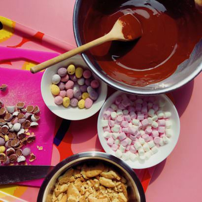 Rocky Road Ingredients