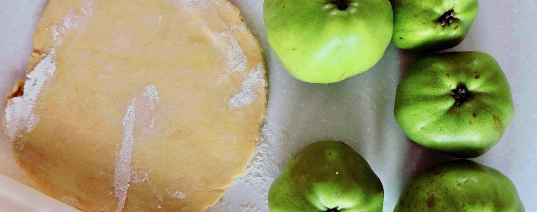 Apple Tart Prep