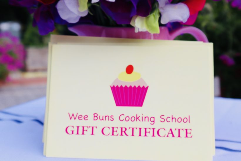 Wee Buns Gift Voucher