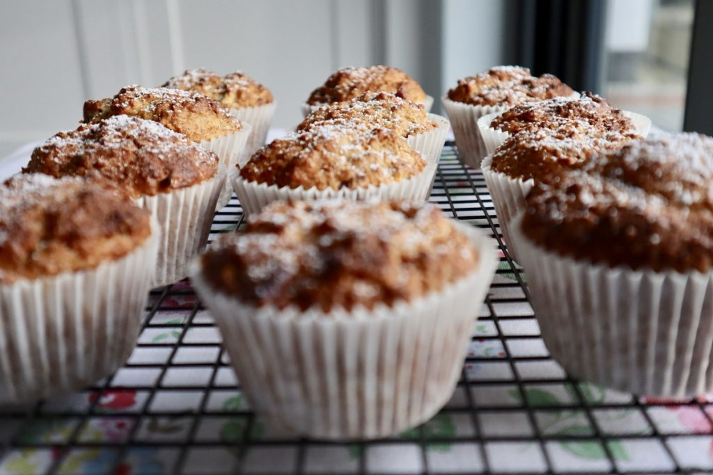 Apple And Cinnamon Muffins Made By Wee Buns Cookery School