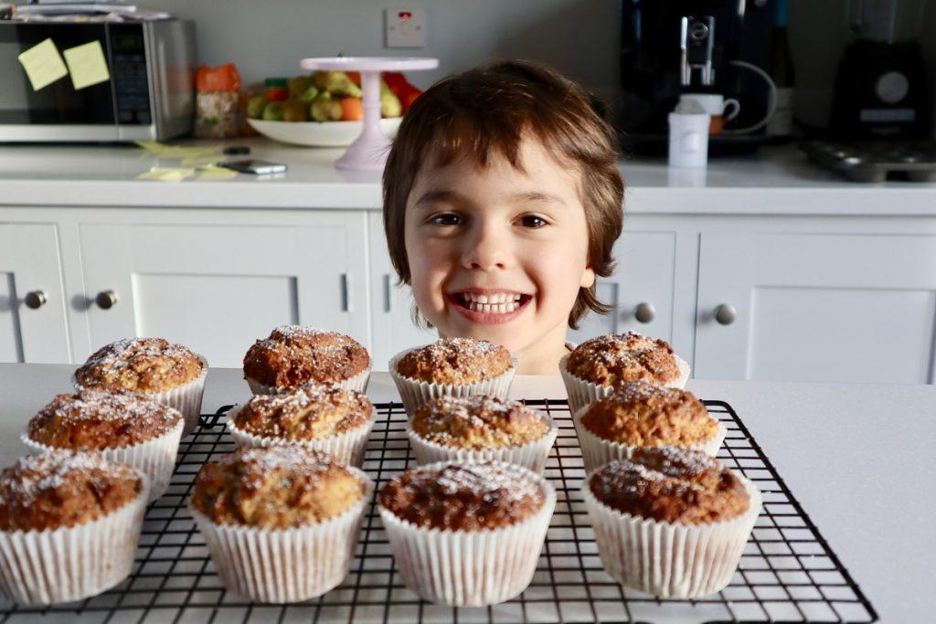 Apple Pecan Cinnamon Muffin Recipe