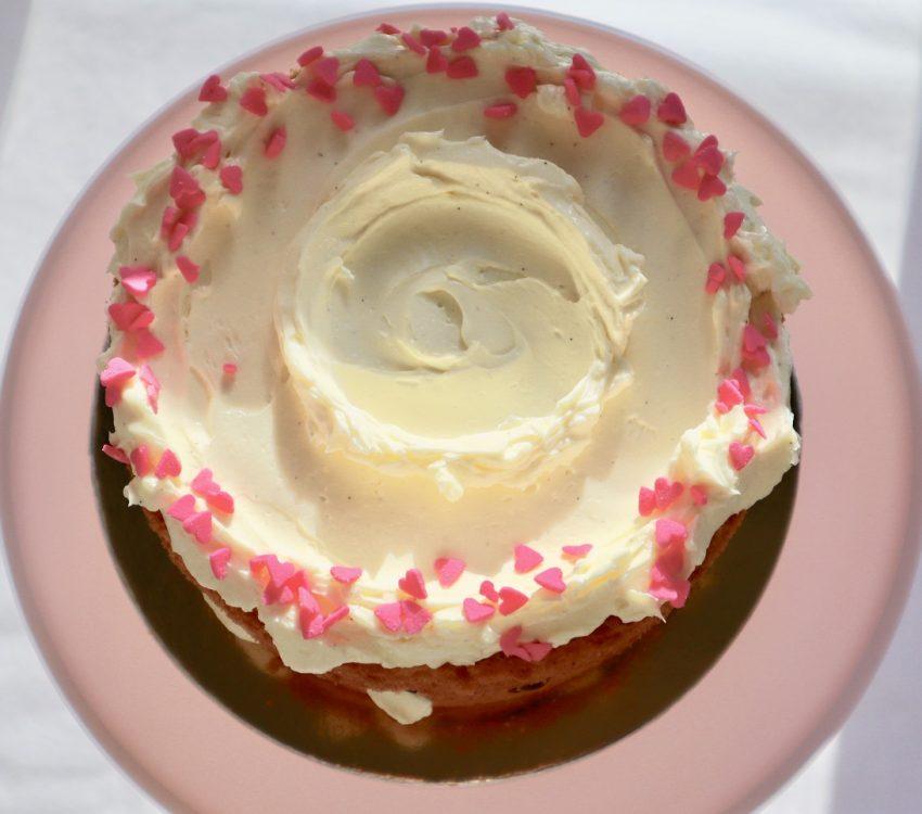 Victoria Sponge Cake With Buttercream Icing And Jam Recipe